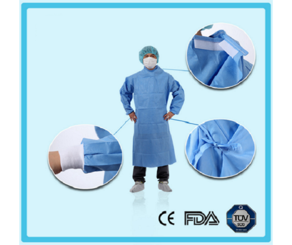 EXA-ONE SURGICAL GOWN – MODEL 7121 – RAGLAN SLEEVES